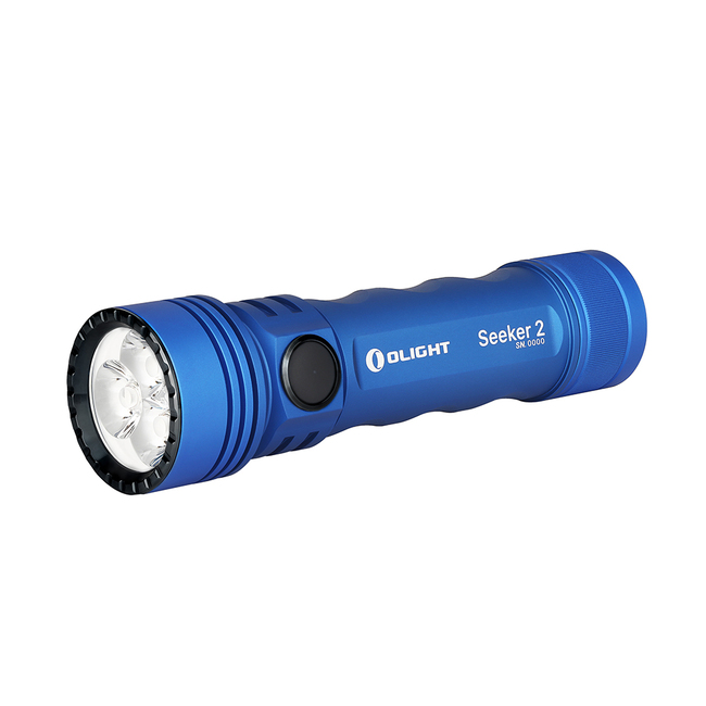 Olight introduces blue version of the Seeker 2.