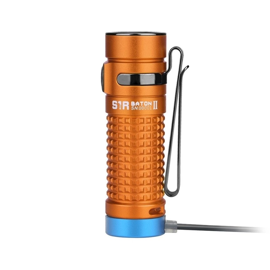 New Olight Limited Edition – S1r Baton II in Orange