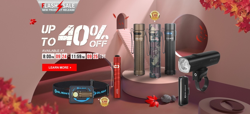 Olight's September Flash Sale!